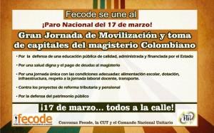 FECODE-17 MARZO-2016-